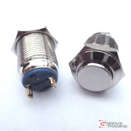 12mm Metal Switch With Flat...