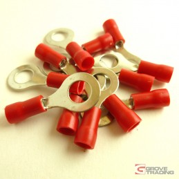 Red Ring Crimp Terminal