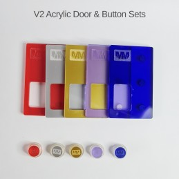 V2 Acrylic Door & Button Set