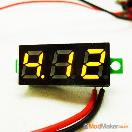 Yellow 0.28` LED Display...