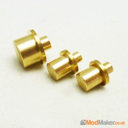 Brass Flat 3 Piece Actuator...