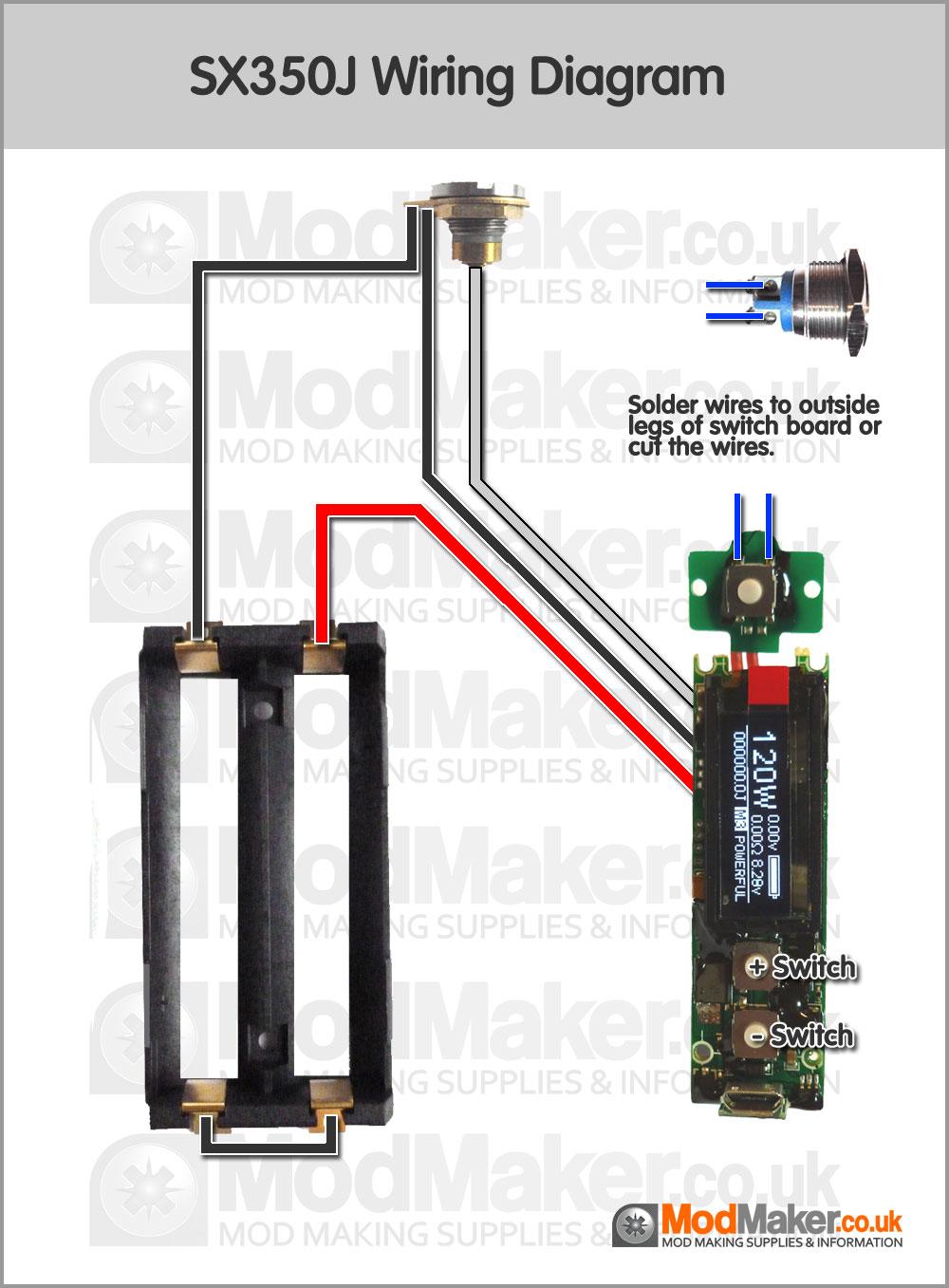 SX350J Wiring DiagramModMaker